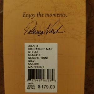 Patricia Nash Bags - Patricia Nash Patina Signature Map Tote